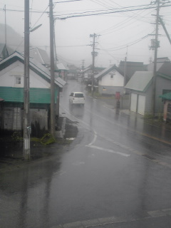 激しい雷雨