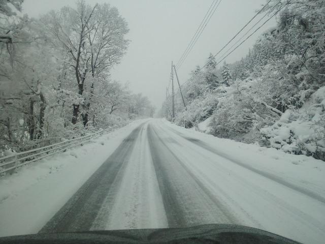 昨日の路面