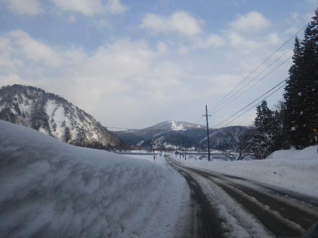 雨→雪→晴れ