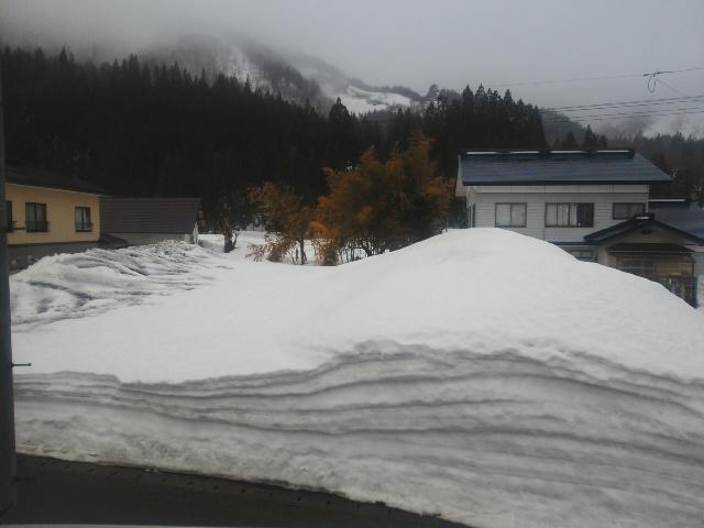 雪解け進む