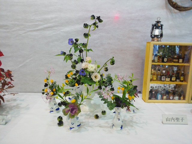 文化祭お花